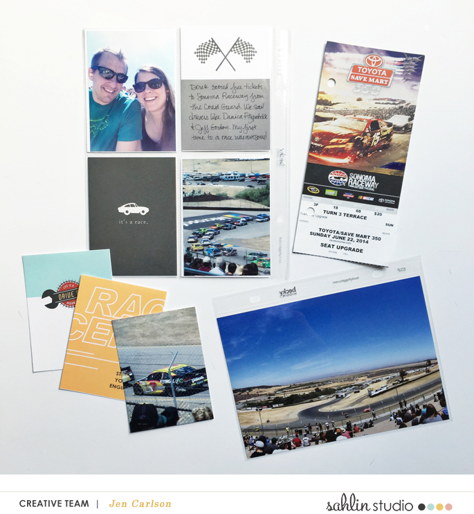 Toyota Save Mart hybrid pocket scrapbooking page using Project Mouse (Cars) by Britt-ish Designs and Sahlin Studio