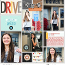 Learn to Drive Teen Project Life page using Project Mouse (Cars) by Britt-ish Designs and Sahlin Studio