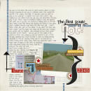 layout using Snipettes: Travel by Sahlin Studio