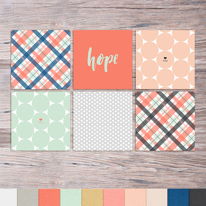 Memory Pocket Monthly (MPM) | PROMISE - Spring, Summer, Weddings, Beach Subscription by The LilyPad Designers - Perfect for your Project Life albums!