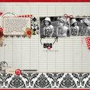 layout featuring Around the World by Britt-ish Designs and Sahlin Studio
