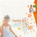 layout featuring Life's a Beach by Sahlin Studio