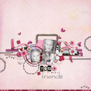 layout featuring Circle Stitches by Sahlin Studio
