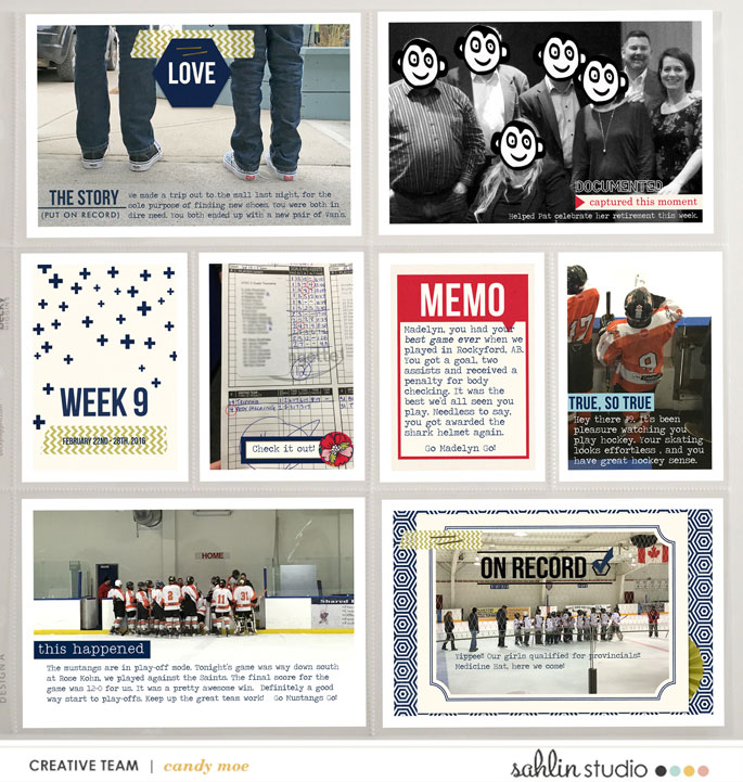 layout by ctmm4 featuring Documentary (Kit) by Sahlin Studio - Perfect for documenting your every memories