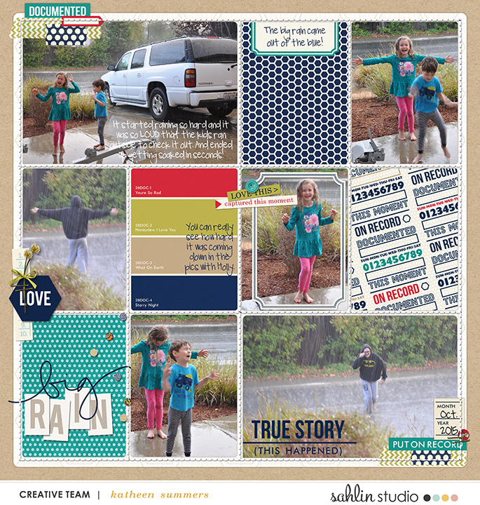 layout by kathleen.summers featuring Documentary (Kit) by Sahlin Studio - Perfect for documenting your every memories