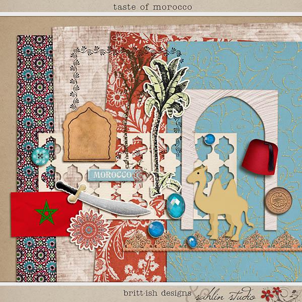 Taste of Morocco by Britt-ish Designs and Sahlin Studio