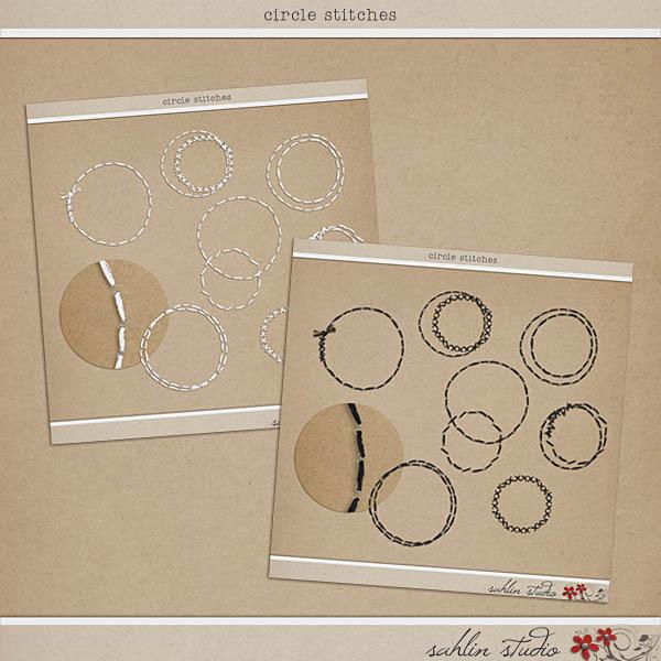 Circle Stitches by Sahlin Studio