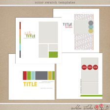 Color Swatch Templates by Sahlin Studio