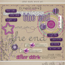 After Dark Word Art by Sahlin Studio