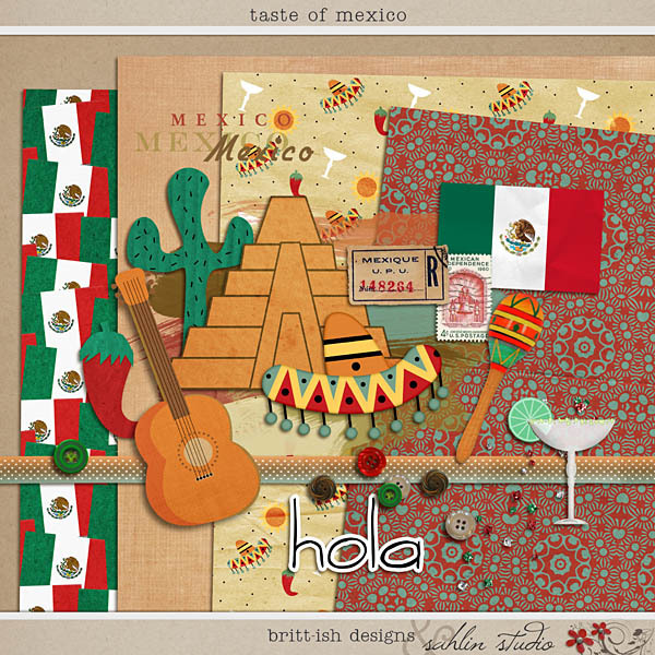 Taste of Mexico by Britt-ish Designs and Sahlin Studio