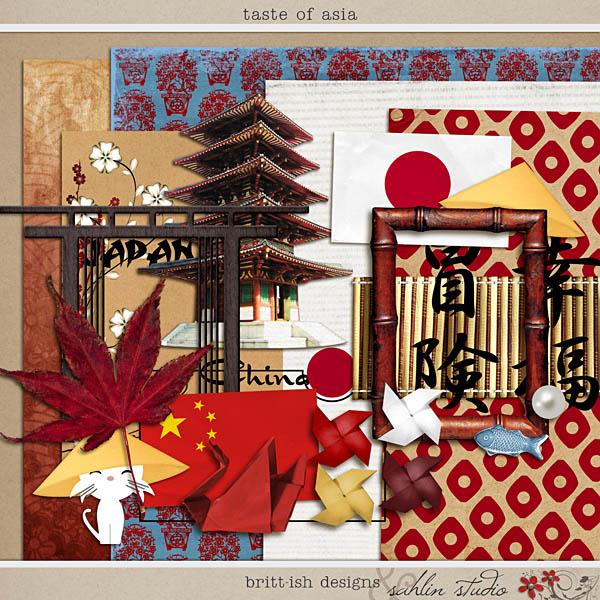 Taste of Asia by Britt-ish Designs and Sahlin Studio