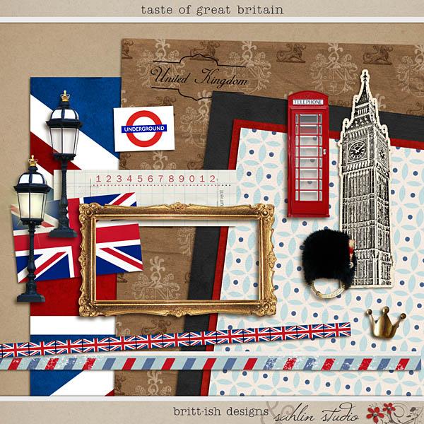 Taste of Great Britain by Britt-ish Designs and Sahlin Studio