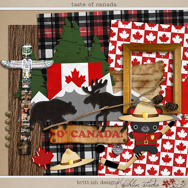Taste of Canada by Britt-ish Designs and Sahlin Studio