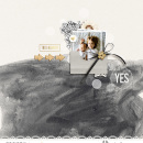 This Moment digital scrapbooking page using Me and You by Sahlin Studio