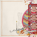 layout featuring Plastics by Sahlin Studio
