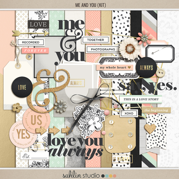 Me and You | Elements by Sahlin Studio - Perfect for your Wedding, Love or everyday album!