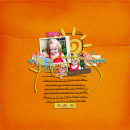 layout featuring Snipettes: Life's a Beach by Sahlin Studio
