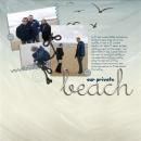 layout featuring Modern Words: Summer by Sahlin Studio