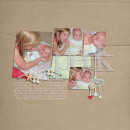 layout featuring Vellum Alpha by Sahlin Studio