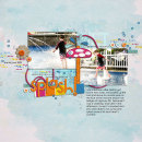 layout featuring Waterpark by Jacque Larsen and Sahlin Studio