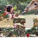 Safari digital scrapbooking page using Project Mouse: Animal by Britt-ish Designs and Sahlin Studio