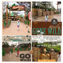 Go Wild!! Madagascar Project Life page using Project Mouse: Animal by Britt-ish Designs and Sahlin Studio