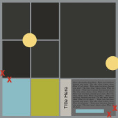 July 2016 Template by Sahlin Studio