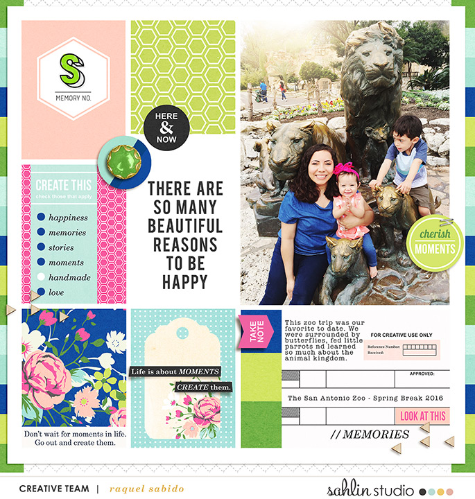 digital scrapbooking layout created by raquels featuring Create by Sahlin Studio