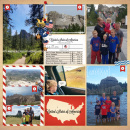 Travel America Hiking Digital Scrapbook Layout page using Project Mouse (World): America by Britt-ish Design and Sahlin Studio