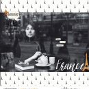 Experience France Digital Scrapbook Layout page using Project Mouse (World):France by Britt-ish Design and Sahlin Studio