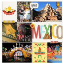Disney Epcot Mexico Project Life Layout page using Project Mouse (World): Mexico by Britt-ish Design and Sahlin Studio