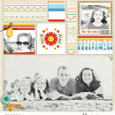 Mexico Digital SCrapbook Layout page using Project Mouse (World): Mexico by Britt-ish Design and Sahlin Studio