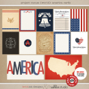 Project Mouse (World): America by Britt-ish Design and Sahlin Studio - Perfect for your Project Life or Project Mouse Disney Epcot Album
