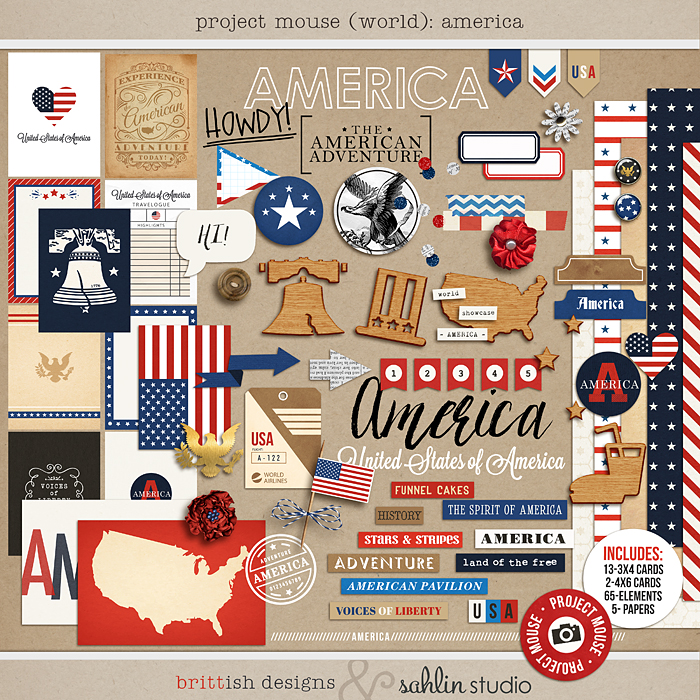 Project Mouse (World): America by Britt-ish Design and Sahlin Studio