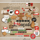 Project Mouse (World): Canada by Britt-ish Design and Sahlin Studio - Perfect for your Project Life or Project Mouse Disney Epcot Album