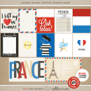 Project Mouse (World): France journal Cards by Britt-ish Design and Sahlin Studio - Perfect for your Project Life or Project Mouse Disney Epcot Album