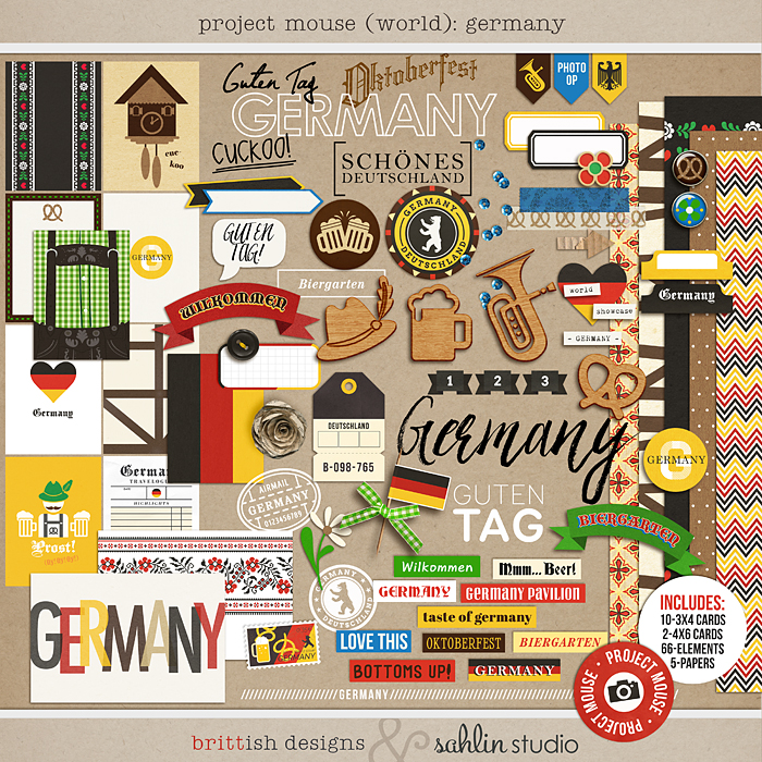 Project Mouse (World): Germany by Britt-ish Design and Sahlin Studio
