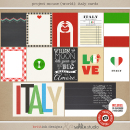 Project Mouse (World): Italy journal Cards by Britt-ish Design and Sahlin Studio - Perfect for your Project Life or Project Mouse Disney Epcot Album!