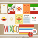 Project Mouse (World): Mexico Journal Cards by Britt-ish Design and Sahlin Studio - Perfect for your Project Life or Project Mouse Disney Epcot Album!