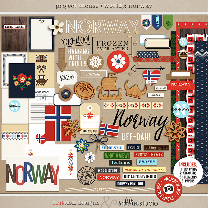 Project Mouse (World): Norway by Britt-ish Design and Sahlin Studio