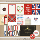 Project Mouse (World): United Kingdom Journal Cards by Britt-ish Design and Sahlin Studio - Perfect for your Project Life or Project Mouse Disney Epcot Album!
