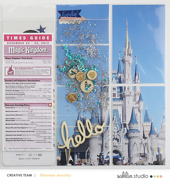 Sahlin Studio Theresa Moxley | Project Mouse Cinderella's Castle!