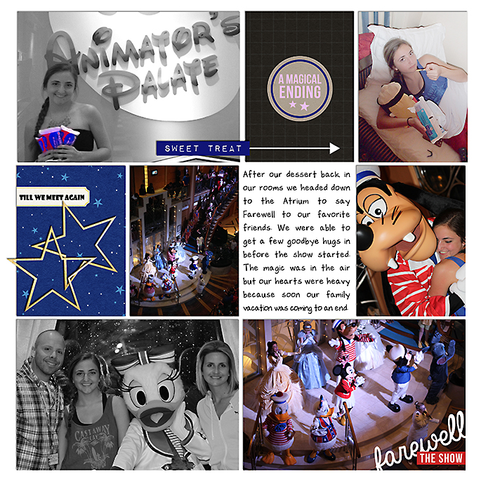 Disney Cruise PHOTO BOOK - A Project Mouse Story by Courtney Stevens using the Project Mouse collection by Sahlin Studio