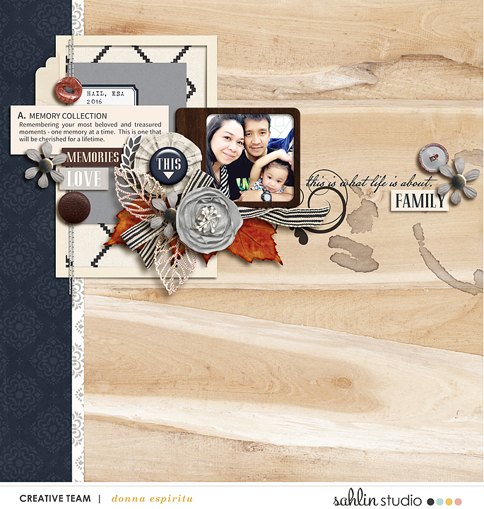 layout created by scrappydonna featuring Chesterfield by Sahlin Studio
