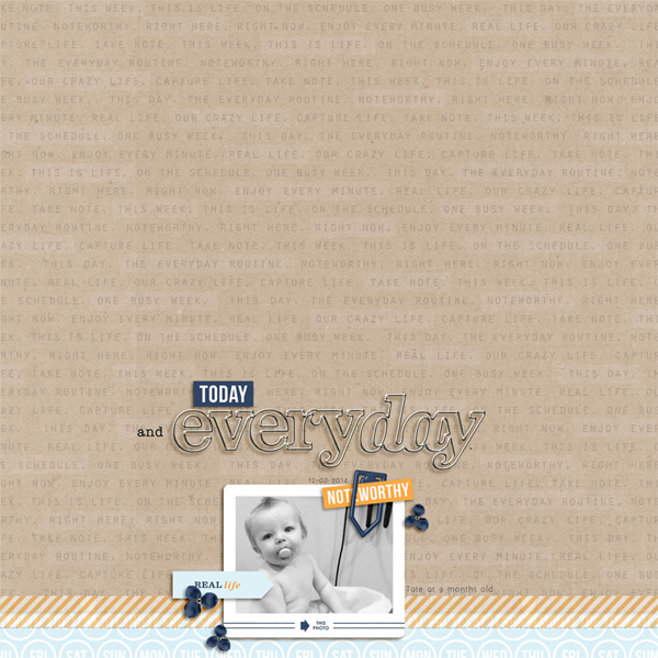 Today and Everyday created by Hillary featuring The Everyday Routine by Sahlin Studio