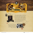 The Goonies digital scrapbooking page using Project Mouse (Pirates) by Britt-ish Designs and Sahlin Studio