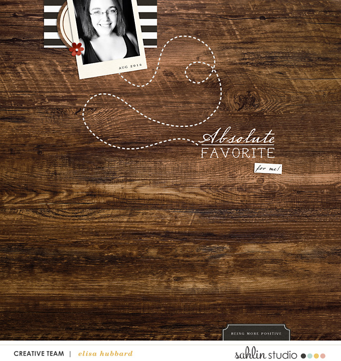 Absolute digital scrapbooking page using Project Mouse (Pirates) by Britt-ish Designs and Sahlin Studio