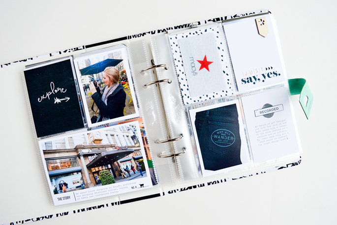 Amy Challis | New York Travel Mini Album | Sahlin Studio Scrapbook Designs