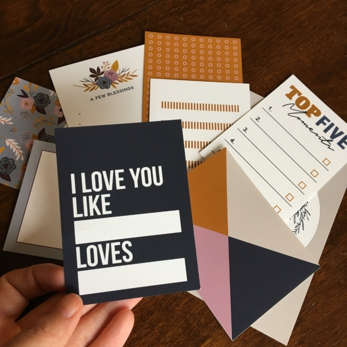 Kindred Journal Cards by Sahlin Studio - Perfect for digital scrapbooking or your Project Life album!
