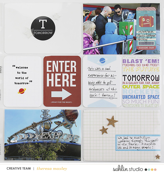 Sahlin Studio Theresa Moxley | Project Mouse #4 - Discovering Tomorrowland!